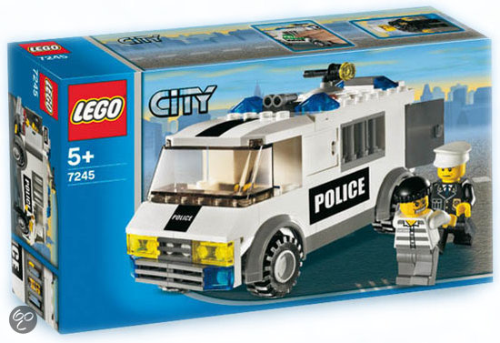 lego city gevangenentransport 7245 lego. Black Bedroom Furniture Sets. Home Design Ideas