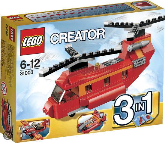 LEGO Creator Rode Rotors Helikopter - 31003