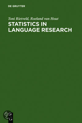 Statistics In Language Research