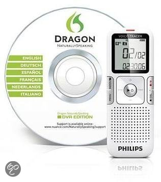 Philips LFH0625 - Voice recorder - 2 GB - Zilver
