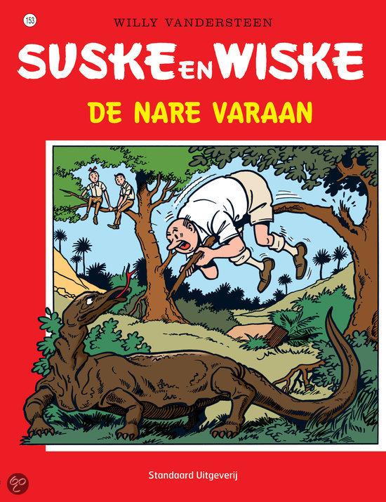 Suske en Wiske / 153 De nare varaan
