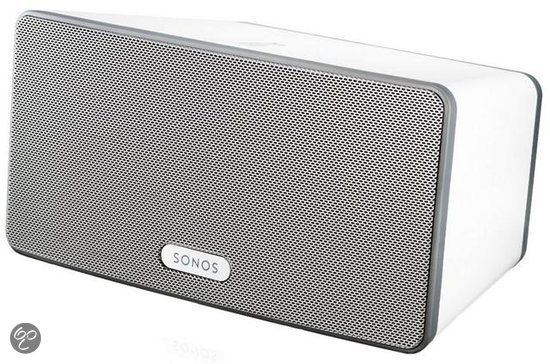 Sonos Play 3 - Draadloze hifi-speaker met streaming - Wit