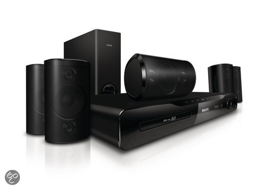 Philips HTS4561 - 5.1 3D Blu-ray Home cinema set