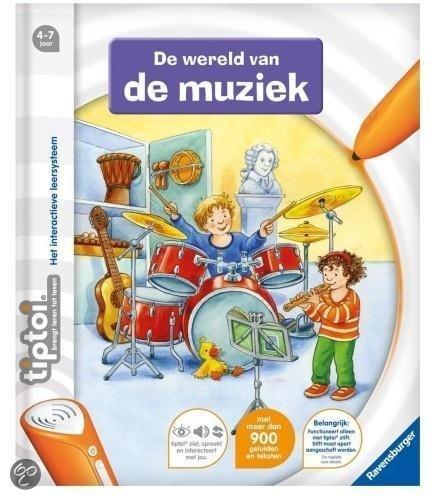 Ravensburger Tiptoi - De wereld van de Muziek