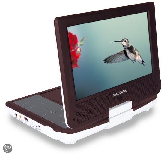 Salora DVP7038SW - Portable dvd-speler - Bruin