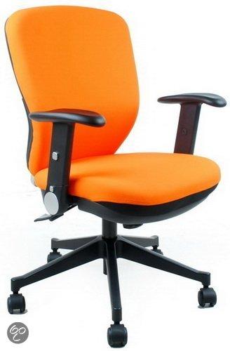 hjh office City 60 - Bureaustoel - Blauw / zwart in Fontenoy