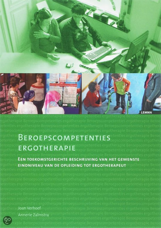 Beroepscompetenties ergotherapie