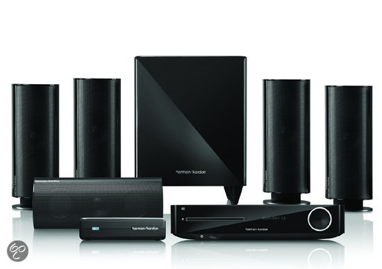 Harman/Kardon BDS 877 - 5.1 Home Cinema set - Zwart