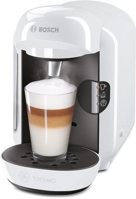 Bosch Coffee Maker White : Bosch Tassimo White Vivy Multi Hot Beverage Machine Coffee Espresso TAS1204GB eBay