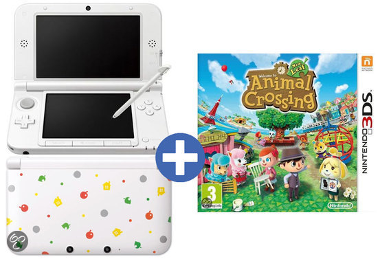 k nintendo ds xl animal crossing special edition