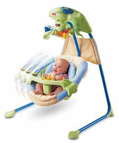 bol.com | Fisher-Price Babygear Schommelstoel,Mattel