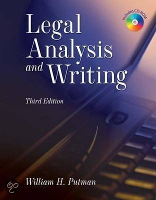 Legal Research Analysis and Writing 3rd Edition
