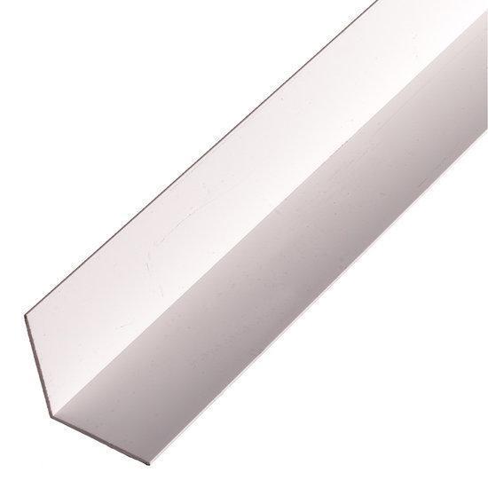 Kunststof hoekprofiel 40x40x2 0 mm 2600mm wit for Witte kunstof eetkamerstoelen