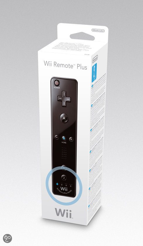 Nintendo Draadloze Controller Zwart Wii