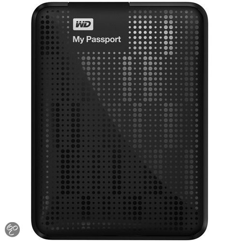 Western Digital My Passport - 1TB / USB 3.0 / Zwart
