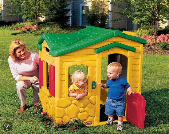 Little tikes toverdeurbel speelhuis little for Amazon casette per bambini