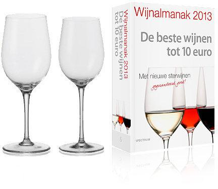 Leonardo Ciao+ Witte- & Rode Wijnglazenset (2  Set van 6) + Gratis Wijnalmanak 2013