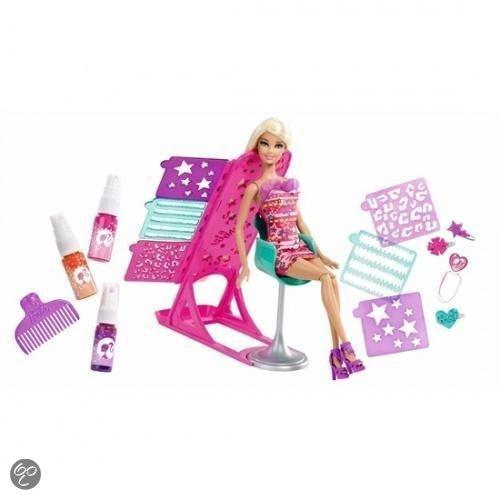 Barbie Haartastische Kleur en Design Studio