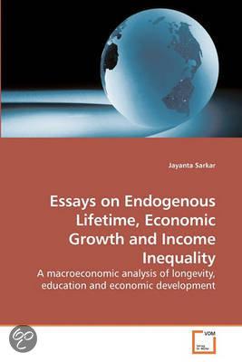 Economic Growth Economic Growth