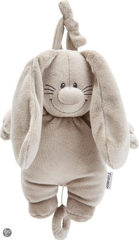 Bunny Basic Muziekdoosje Grijs