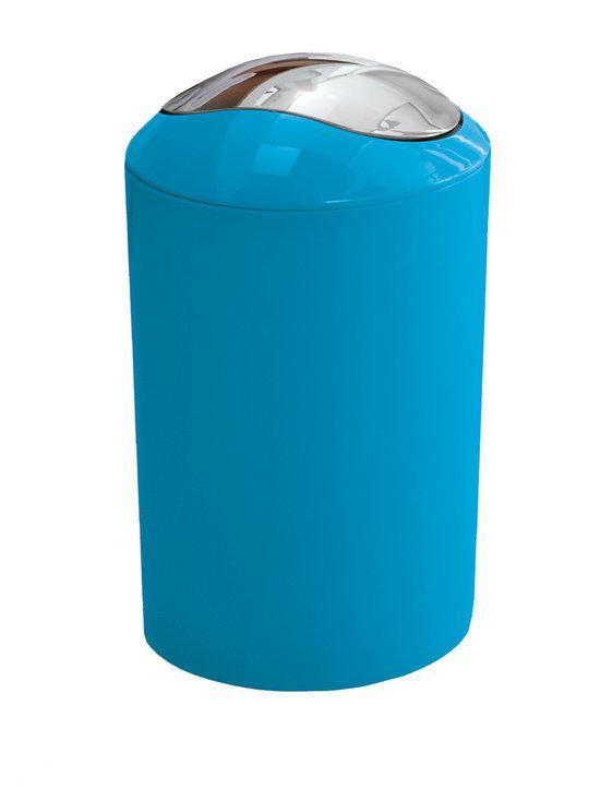 Kleine wolke badkamer emmer turquoise 3 liter - Badkamer turkoois ...
