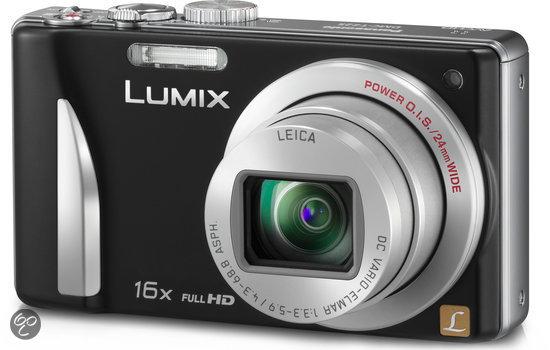 Panasonic Lumix DMC-TZ25 - Zwart