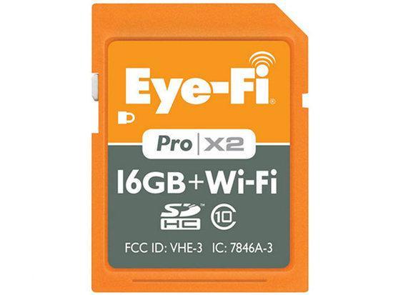 Eye-Fi Pro X2 SD kaart 16 GB