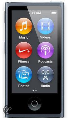 Apple iPod nano - MP4-speler - 16 GB - Zwart