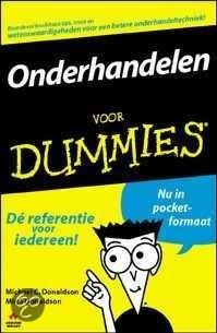 Onderhandelen voor Dummies