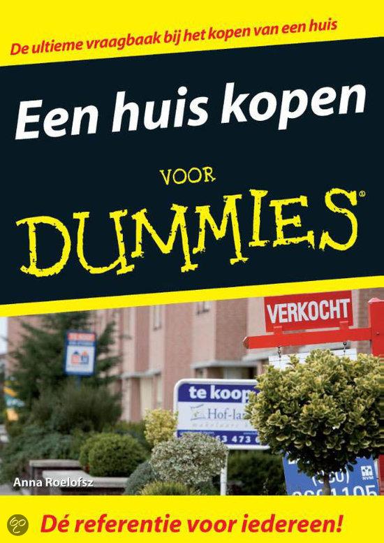 Een huis kopen voor Dummies