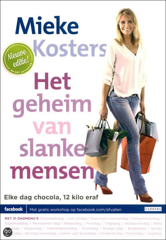 Cover Het geheim van slanke mensen - Mieke Kosters