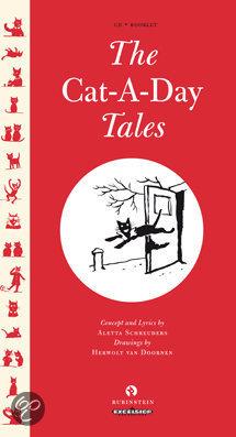 Cover van het boek 'Cat-a-day-tales + boekje'