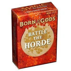 Magic the Gathering - Born of the Gods: Battle the Horde Challenge Deck in Gortel