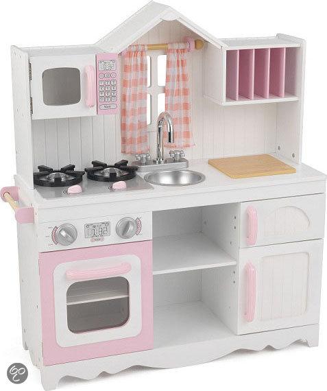 Speelgoed Keuken Tweedehands : .com KidKraft Moderne Country Houten Keukentje,KidKraft Speelgoed