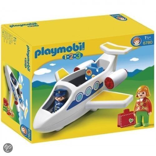 Playmobil 123 Passagiersvliegtuig - 6780