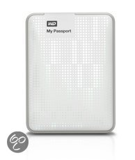 Western Digital My Passport - 500 GB / USB 3.0 / Wit