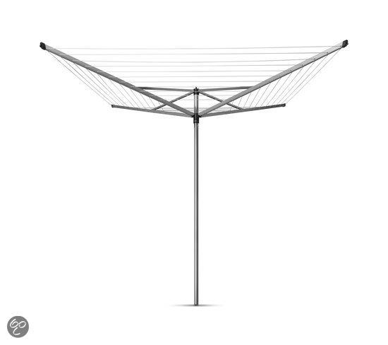 Brabantia Topspinner Droogmolen met metalen grondanker - Ø 45 mm - 60 meter