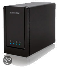 Freecom Dualdrive Network Center 2TB