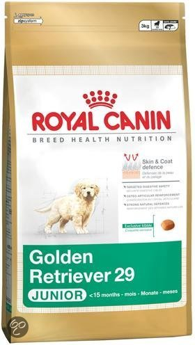 royal canin hondenvoer golden retriever junior 3 kg dier. Black Bedroom Furniture Sets. Home Design Ideas