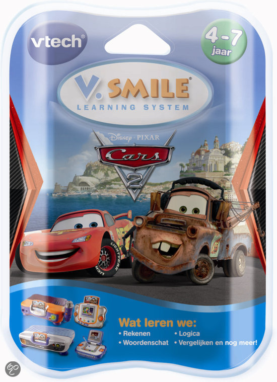 VTech V.Smile Motion Game - Cars 2
