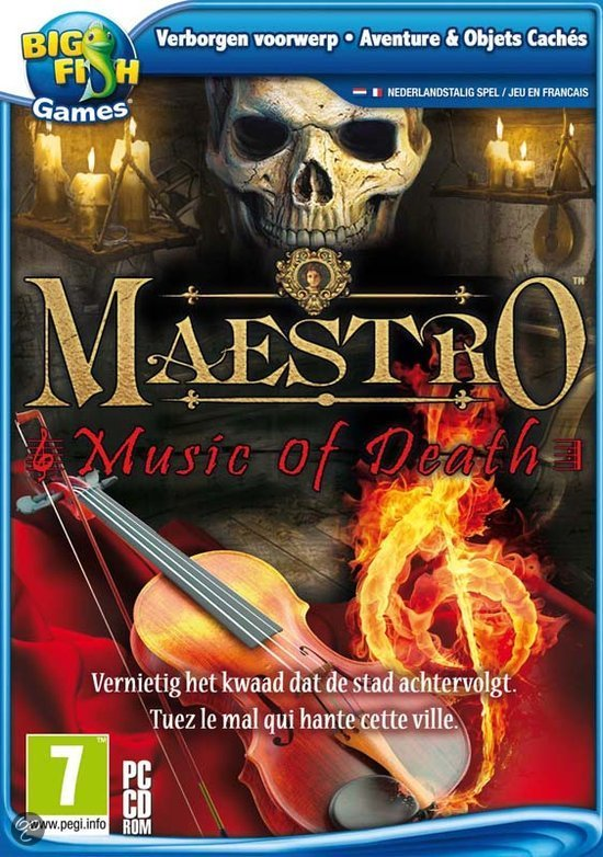 Maestro 1 music of death pc game big fish for Big fish musical soundtrack
