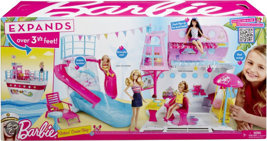 Barbie Slaapkamer Meubels : Barbie Sisters Cruise Ship