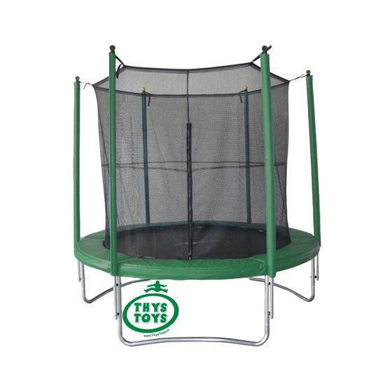 thystoys vangnet trampoline 180 cm groen. Black Bedroom Furniture Sets. Home Design Ideas