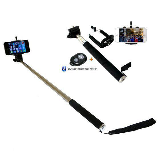 selfie stick afstandsbediening bluetooth monopod. Black Bedroom Furniture Sets. Home Design Ideas