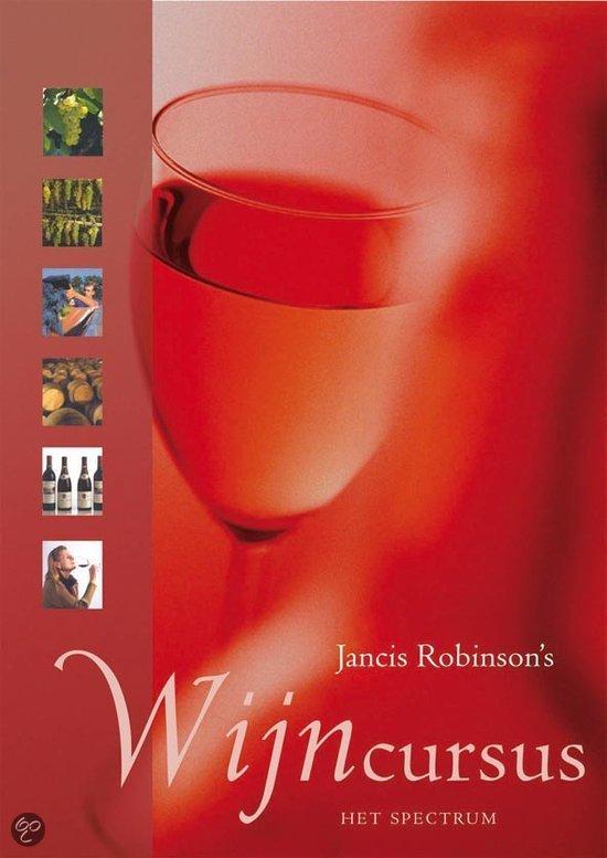 Cover van het boek 'Jancis Robinson's wijncursus'
