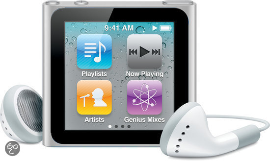 Apple iPod nano 8 GB - Zilver