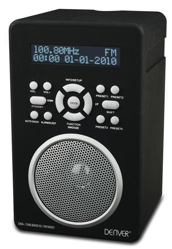 bol.com : Denver DAB43+ - Digitatle Radio - Zwart : Elektronica