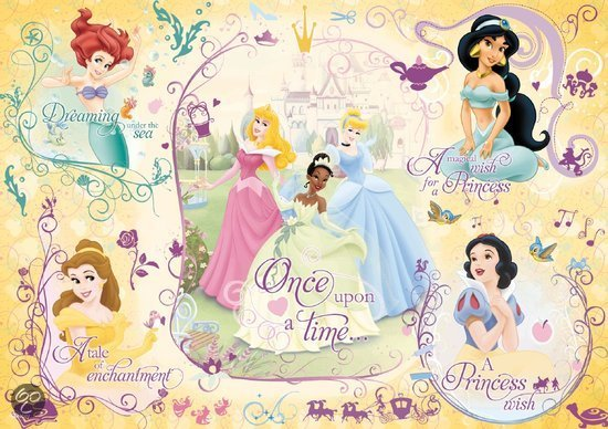 Jumbo Disney Princess - Puzzle in een koker - 50 stukjes