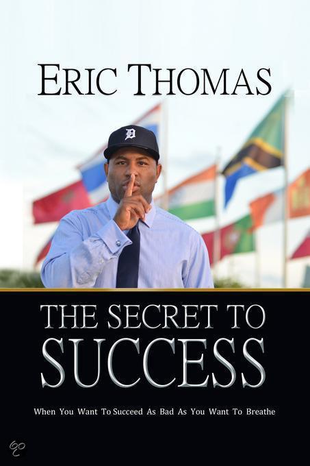 Eric thomas secret to success pdf