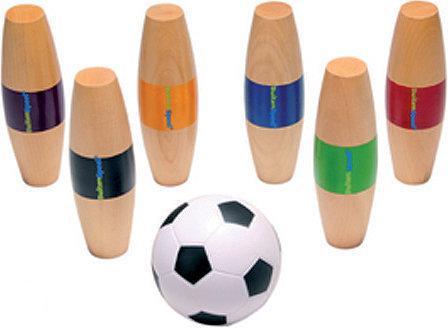 BuitenSpeel Paaltjes voetbal - Hout